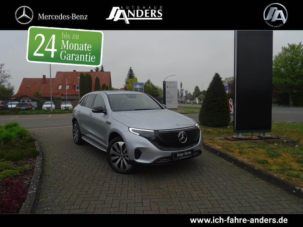 Mercedes-Benz EQC 400 4M Burmester+Fahrassist.+360°+HUD+LED, Jahr 2019, Elektro