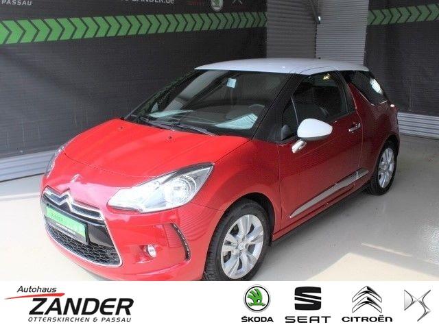 Citroën DS3 1.2 PureTech 82 SoChic Sitzheizung Klima, Jahr 2016, Benzin