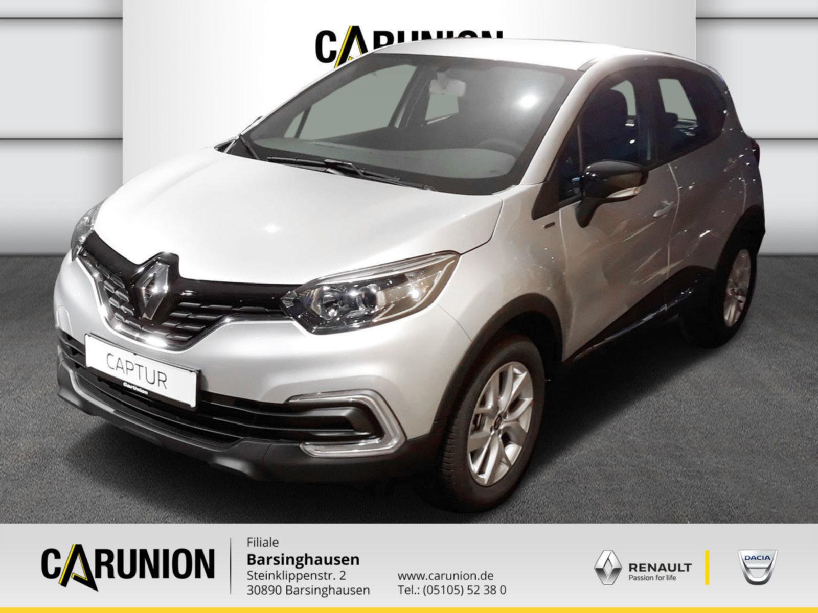 Renault Captur LIMITED TCe 90, Jahr 2019, Benzin