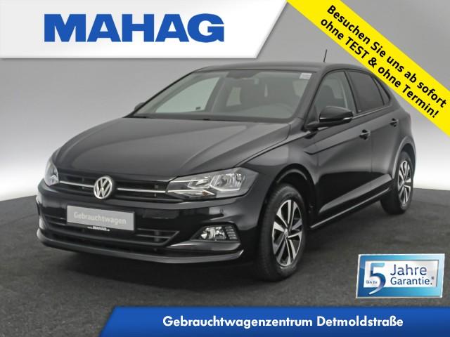 Volkswagen Polo 1.0 TSI IQ.DRIVE Navi Sitzhz. ParkAssist FrontAssist 15Zoll 6-Gang, Jahr 2020, Benzin