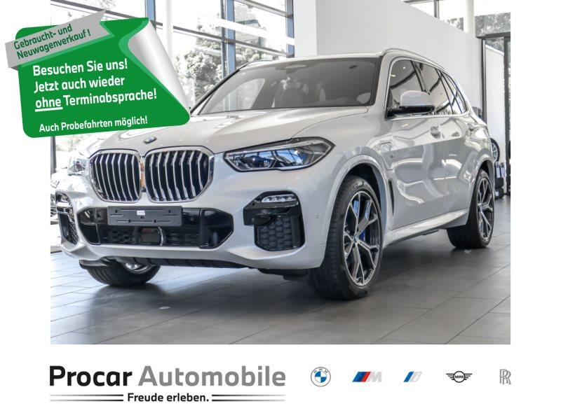 BMW X5 xDrive45e M Sport Laserlicht HUD Luftfederung Individual Leder 21 Zoll AHK, Jahr 2021, Hybrid