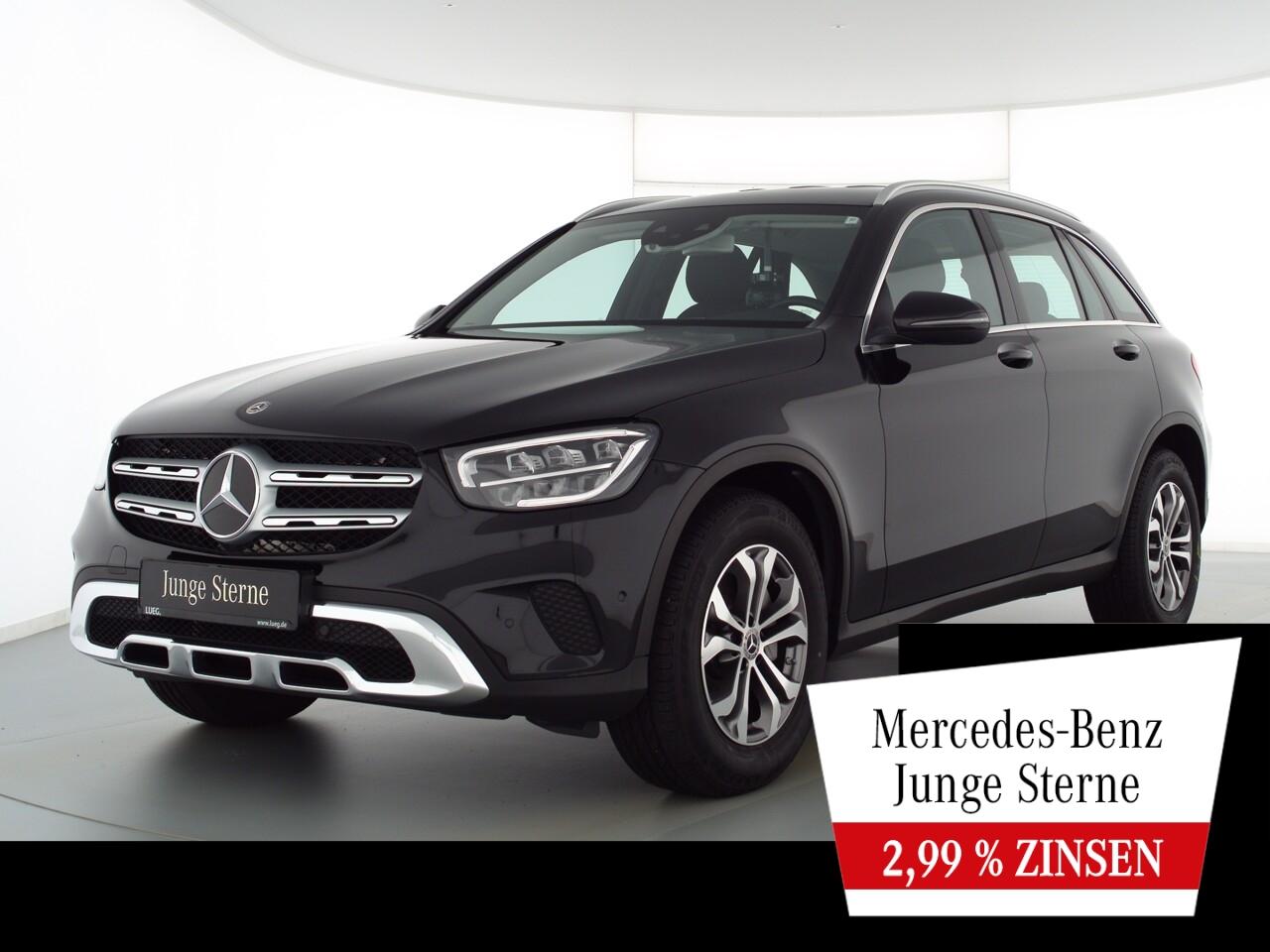 Mercedes-Benz GLC 200 d 4M MBUX+LED-HP+AHK+Distr+SpurPk+Kamera, Jahr 2020, Diesel