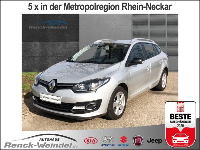 Renault Megane III Grandtour Limited 1.5 dCi 110 FAP Navi LED-Tagfahrlicht NR RDC Klimaautom, Jahr 2015, Diesel