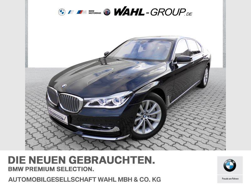 BMW 750d xDrive Pure Excellence | Head-Up AHK Laserlicht, Jahr 2018, Diesel