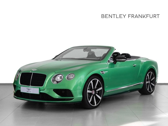 Bentley Continental GTC V8 S von BENTLEY FRANKFURT Navi, Jahr 2018, Benzin