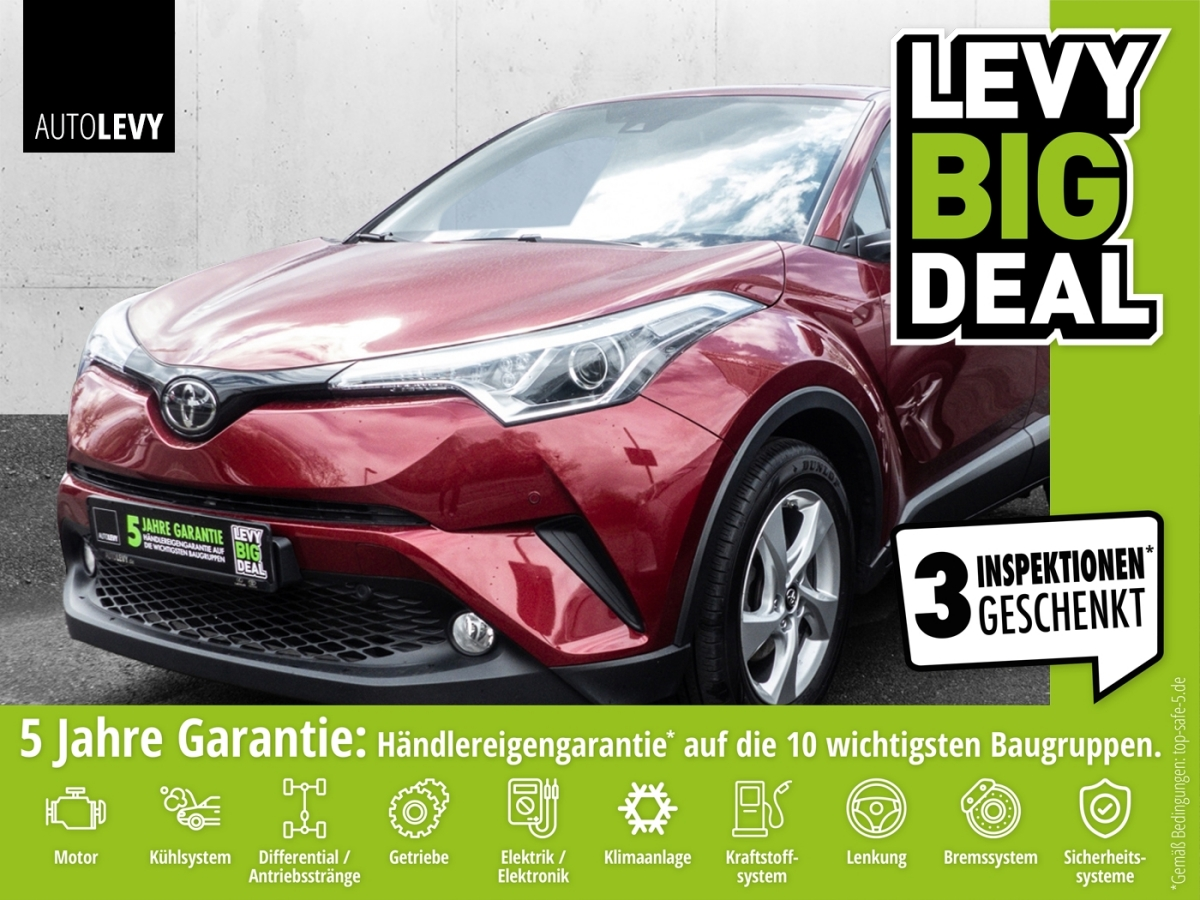 Toyota C-HR 1.2 Flow *KLIMA*PDC*NAVI*CAM*TEMP*DAB*, Jahr 2018, Benzin