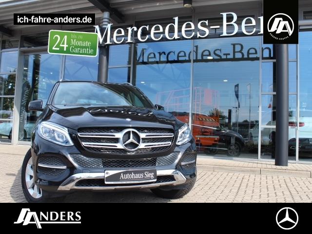 Mercedes-Benz GLE 250 d 4M Navi+SHZ+LED+AHK+PDC+Tempomat+MFL, Jahr 2016, Diesel