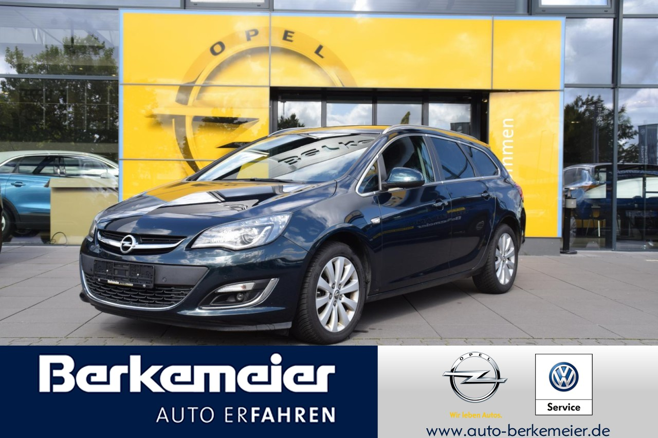 Opel Astra J ST 2.0 AT Exklusiv AHK/Navi/Sitzh/AGR/AFL/Allwetter, Jahr 2015, Diesel