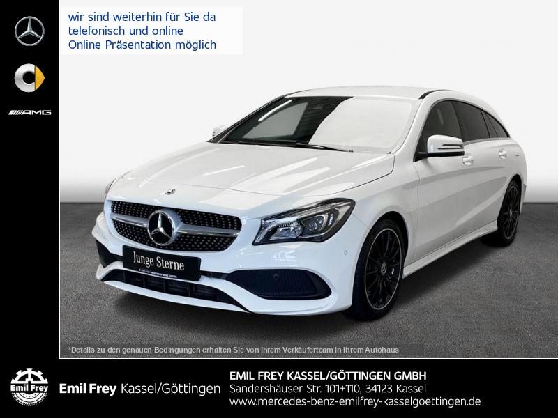 Mercedes-Benz CLA 250 SB AMG+LED+HiFi+EasyPack+Vielspeiche, Jahr 2017, Benzin