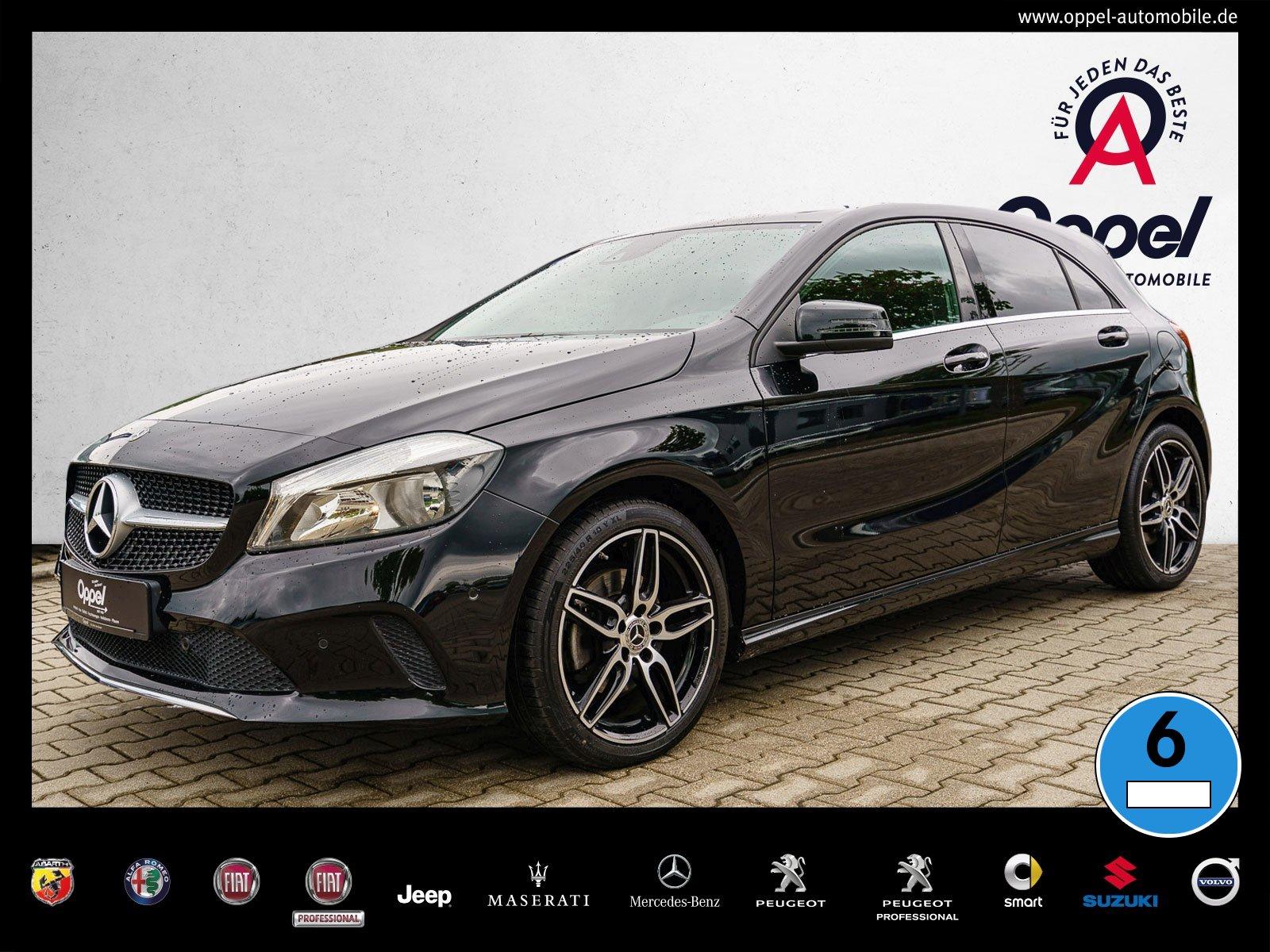 Mercedes-Benz A 220 4M URBAN+NAVI+KAMERA+PTS+TEMPOMAT+SITZHEI., Jahr 2017, Benzin
