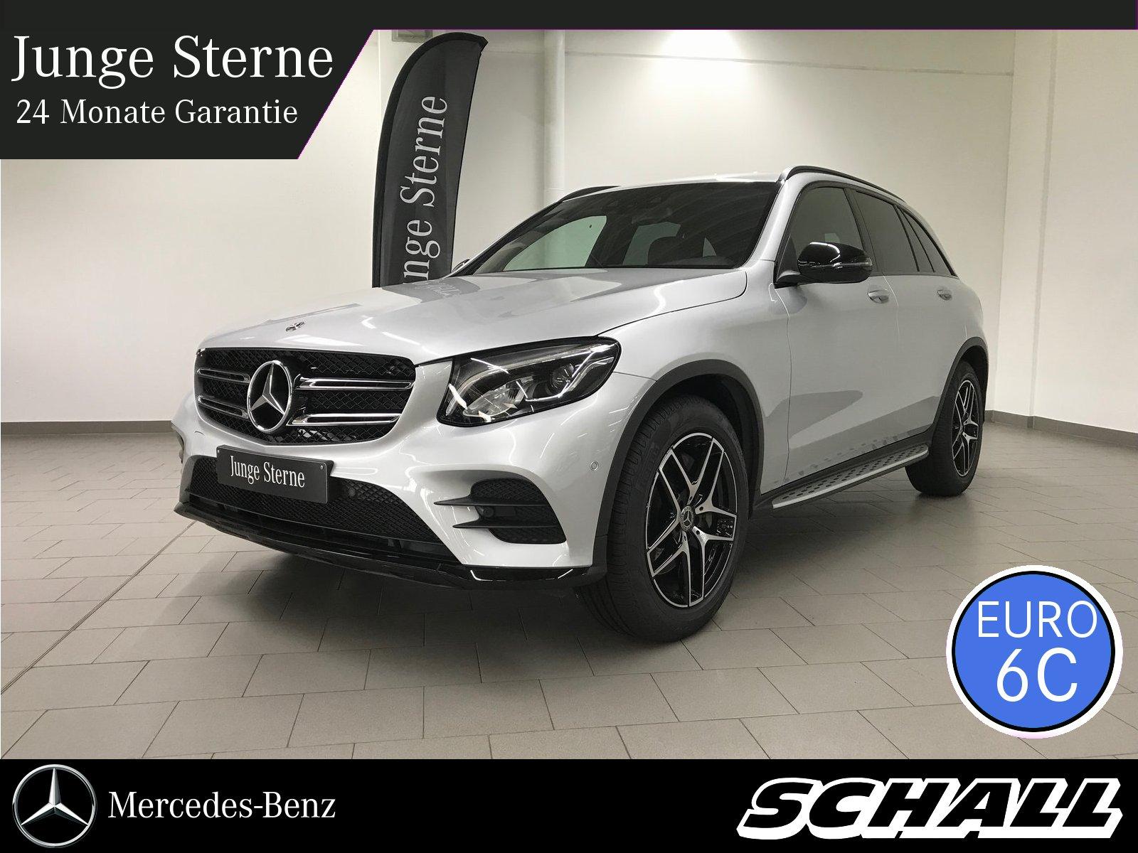 Mercedes-Benz GLC 300 4M AMG/NIGHT/BURMESTER/AHK/LED/KAMERA, Jahr 2018, petrol