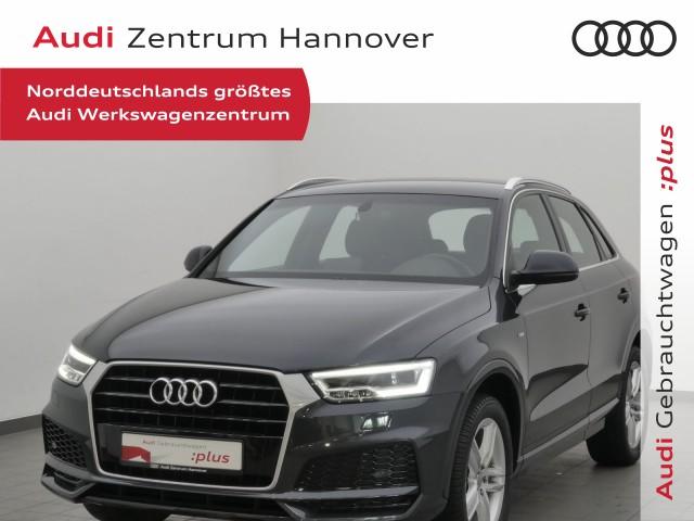 Audi Q3 2.0 TDI Sport LED AHK Navi, Jahr 2018, Diesel