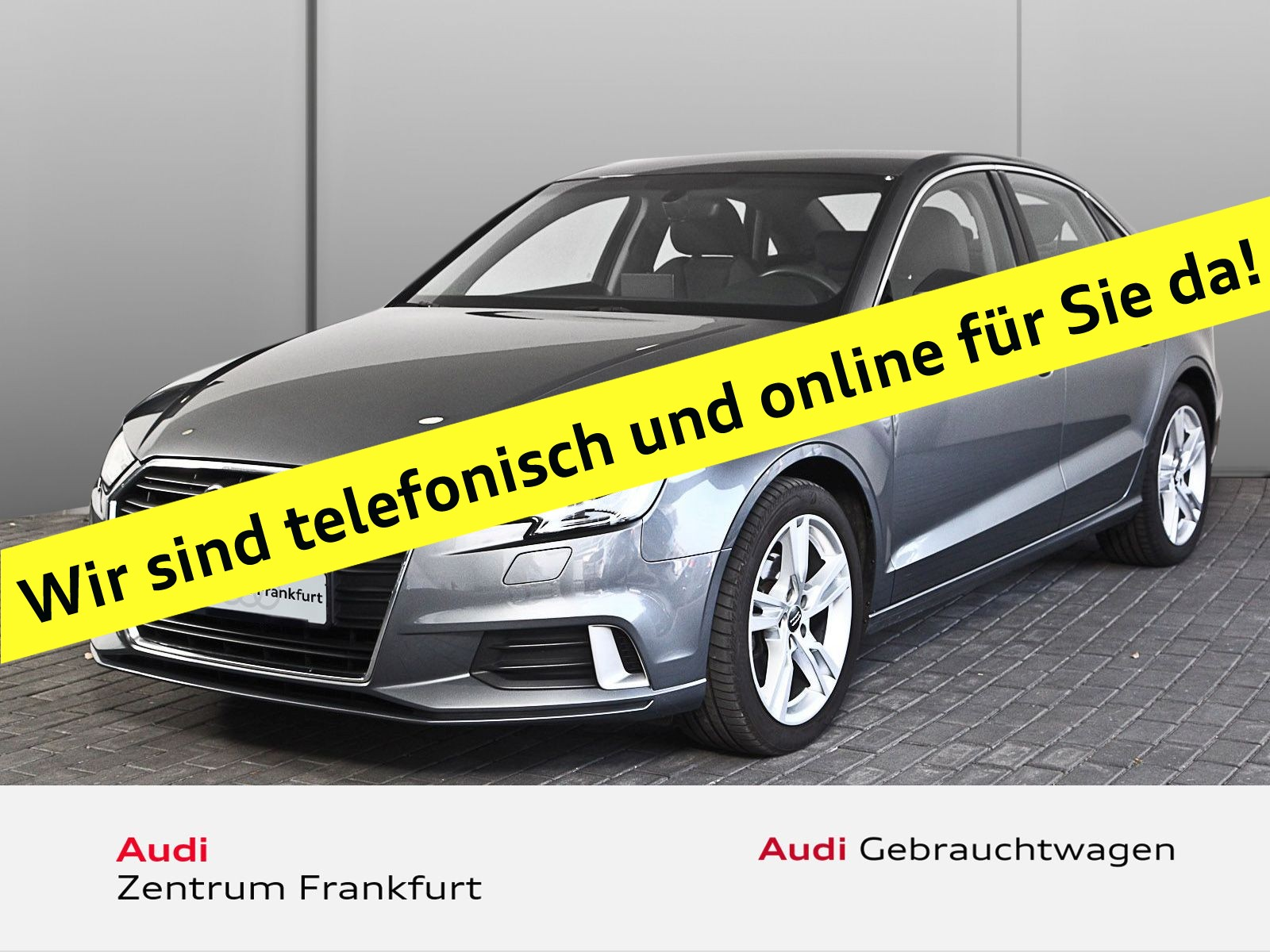 "Audi A3 Limousine 30 TFSI Sport PDC Xenon Alu17"" Connectivity-Paket Tempomat, Jahr 2018, petrol"