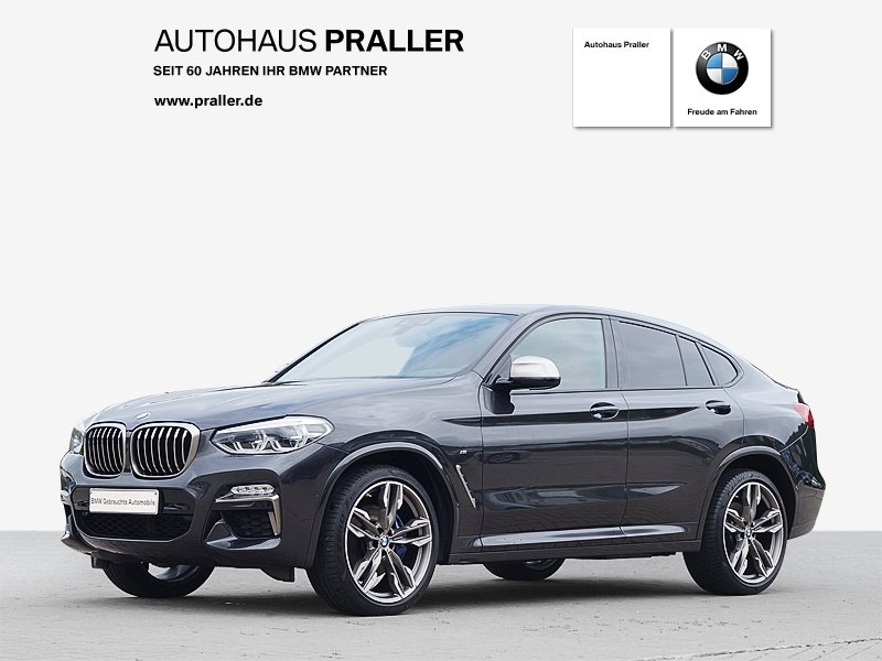 BMW X4 M40d Individual Head-Up HarmanKardon DAB LED Standhzg., Jahr 2018, Diesel