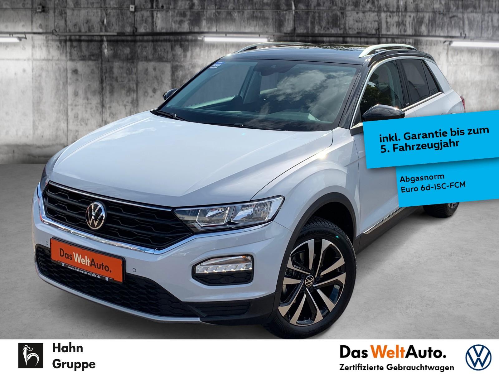 Volkswagen T-Roc UNITED 1,5TSI DSG Nav Kamera eHeck MFL VZE, Jahr 2021, Benzin