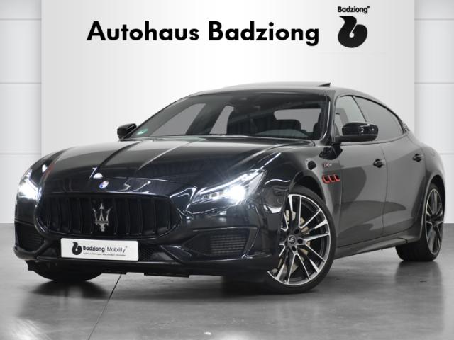 Maserati Quattroporte Trofeo 3.8 V8 Leder 360Kamera Navi Pano, Jahr 2021, Benzin