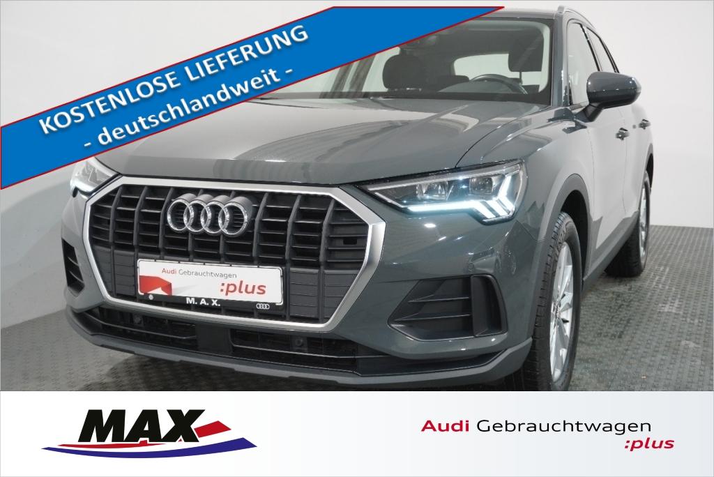 Audi Q3 35 TFSI 5j GAR NAVI LED AHK KAMERA 0,99%, Jahr 2019, Benzin