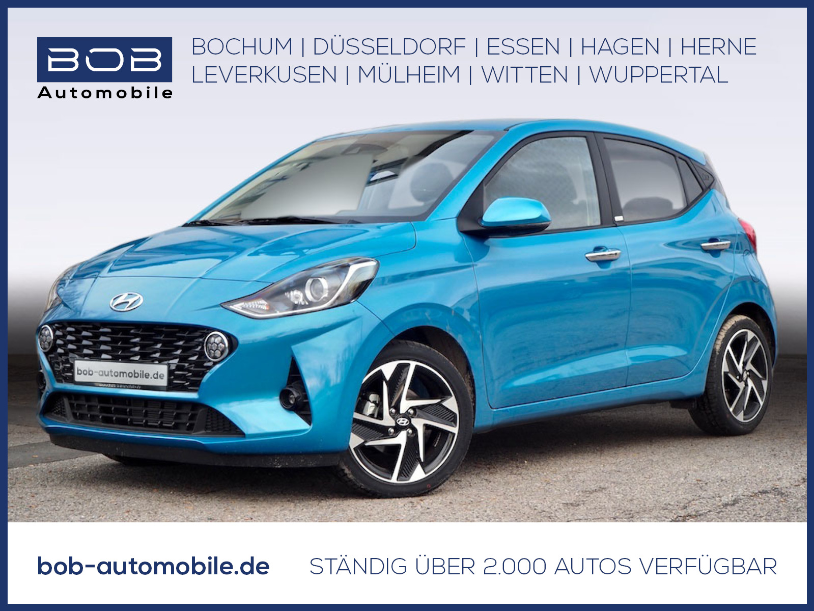 "Hyundai i10 1.0 Style Navi-P SmartKey Kamera 16""Alu, Jahr 2020, petrol"
