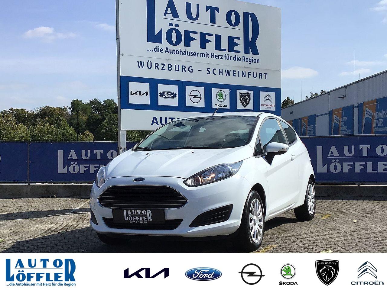 Ford Fiesta Trend 1.2 l - Klima CD AUX Klima, Jahr 2013, Benzin