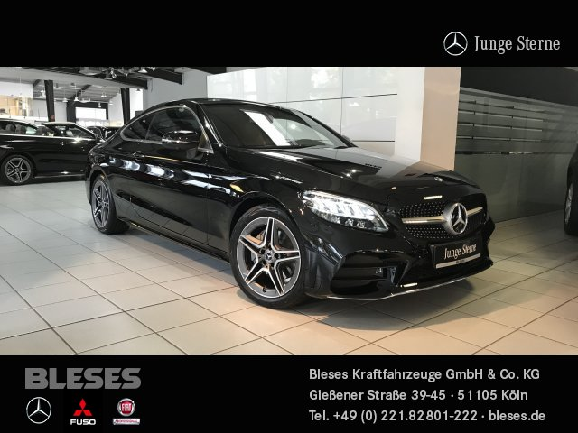 Mercedes-Benz C 200 Coupé AMG Line +Assist+Park+Komfort+Infot+, Jahr 2020, Benzin
