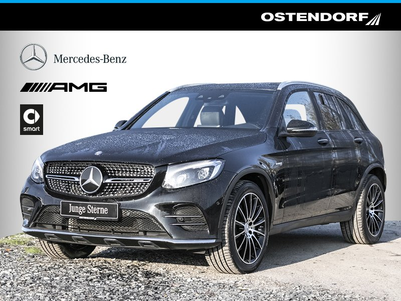 Mercedes-Benz GLC 43 AMG 4M*Distronic*Comand*LED*Panorama*AHK*, Jahr 2017, petrol