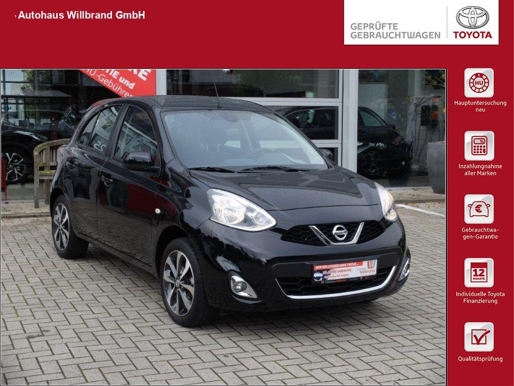Nissan Micra 1.2 CVT Acenta, Jahr 2014, Benzin