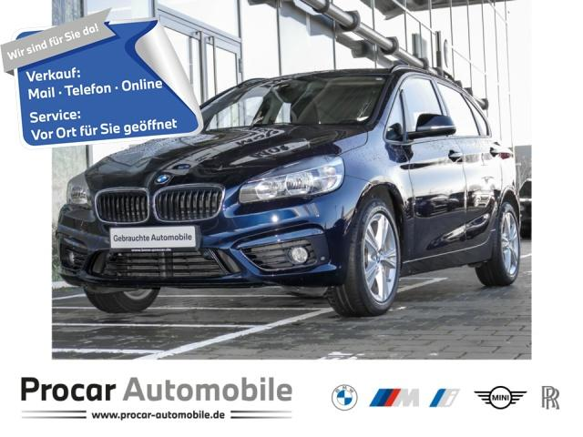 BMW 218 Active Tourer Sport Line Navi Klimaaut. PDC, Jahr 2016, Diesel