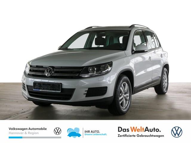 Volkswagen Tiguan 1.4 TSI Trend & Fun Navi AHK GRA Klima, Jahr 2016, Benzin