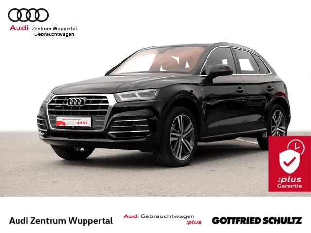 Audi Q5 2.0TFSI quat 2X S-LINE AHK CONNECT LED NAV GRA FSE PDC VO HI 20ZOLL Sport, Jahr 2018, Benzin
