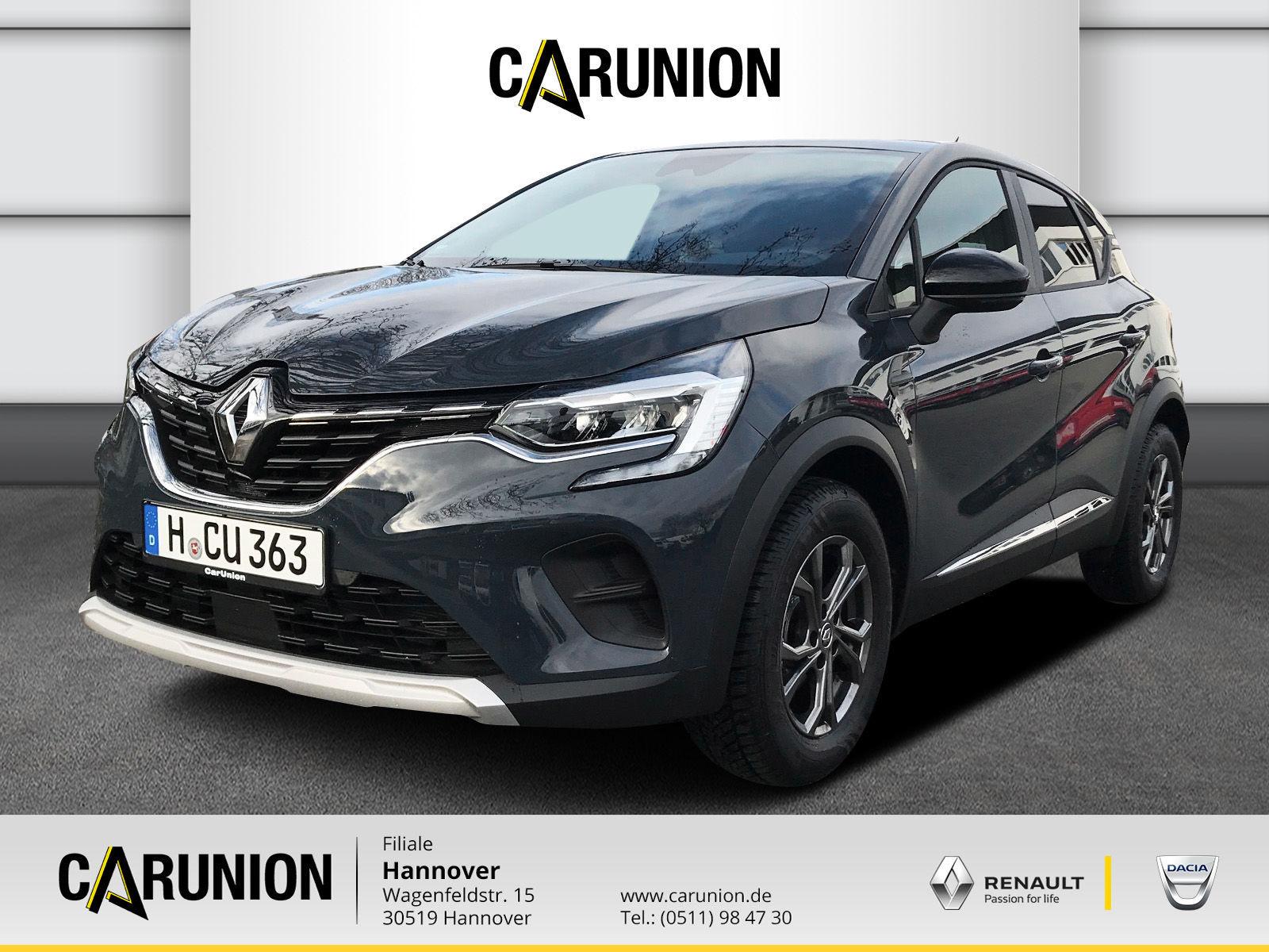 Renault Captur EXPERIENCE TCe 100, Jahr 2019, Benzin