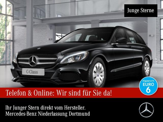 Mercedes-Benz C 180 d T LED AHK Navi PTS Sitzh Sitzkomfort Temp, Jahr 2016, Diesel