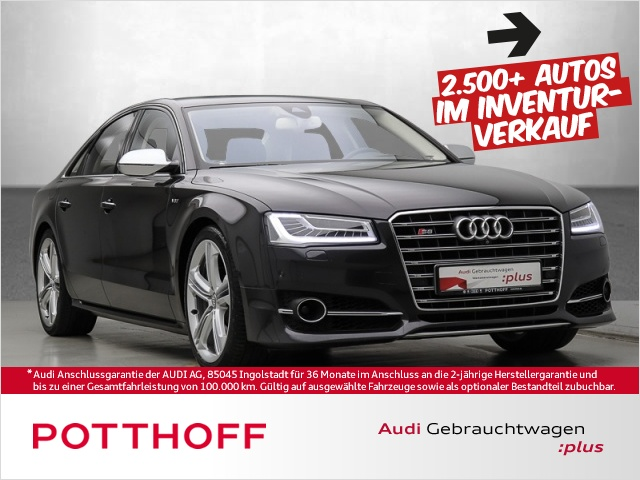 Audi S8 plus 4.0 TFSi BuO Leder ACC LED HuD Navi Klima, Jahr 2015, Benzin