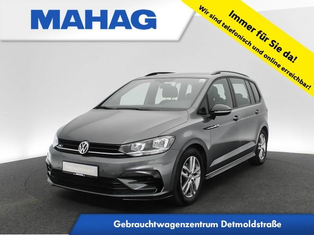 Volkswagen Touran 1.5 TSI R line BlackStyle Navi Bluetooth Kamera ACC 17Zoll 6-Gang, Jahr 2018, Benzin