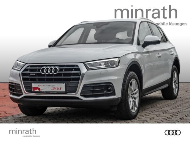 Audi Q5 40 TDI quattro 2.0 EU6d-T Xenon Navi e-Sitze ACC Allrad Fernlichtass. AHK, Jahr 2020, Diesel