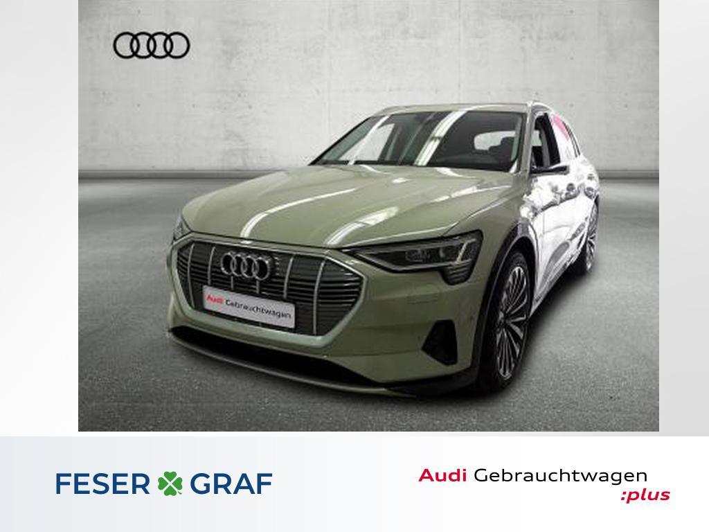 Audi e-tron 55 q Matrix/Sitzbel+Mass/Pano/HuD/ACC/21, Jahr 2019, Elektro