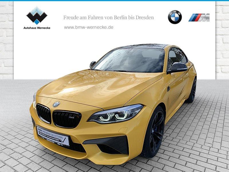 BMW M2 Coupé HK HiFi DAB LED WLAN RFK Navi Prof., Jahr 2018, Benzin