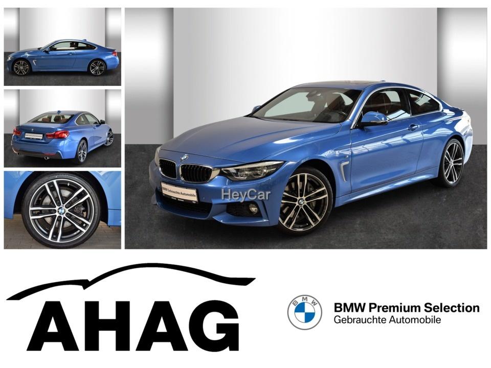 BMW 440i xDrive Coupe M Sport Innovationsp. Aut. PDC, Jahr 2017, Benzin