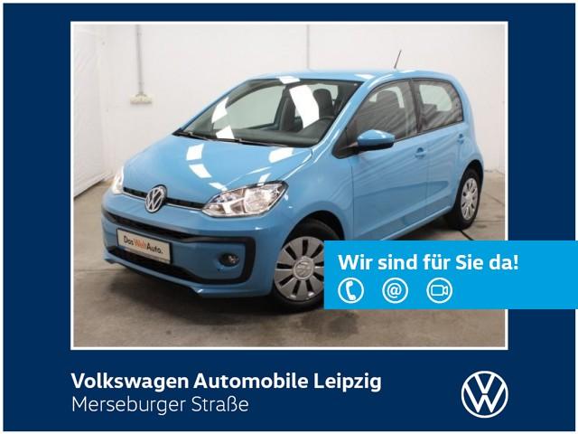 Volkswagen up! 1.0 BMT move up! *SHZ*4-Türen*KLIMA*, Jahr 2016, Benzin