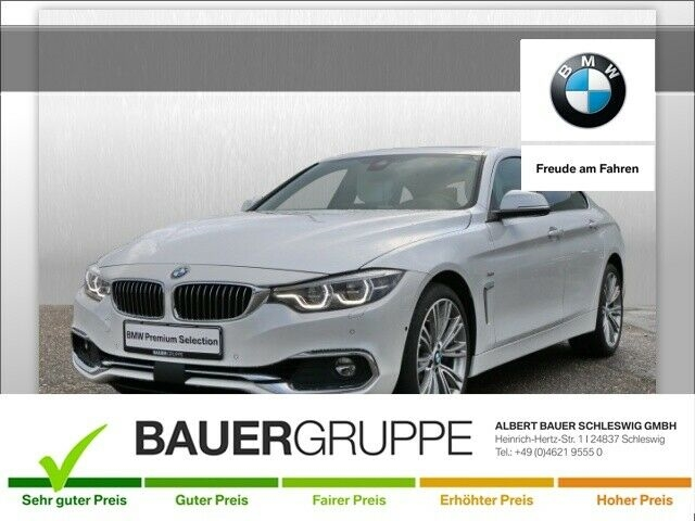 BMW 440 Gran Coupe i xDrive Luxury Line Leder LED Navi Kurvenlicht e-Sitze HUD ACC Rückfahrkam., Jahr 2018, Benzin