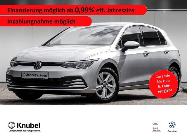 Volkswagen Golf VIII Life 1.5 TSI*Navpro*LED*ACC*SHZ*Garant, Jahr 2020, Benzin