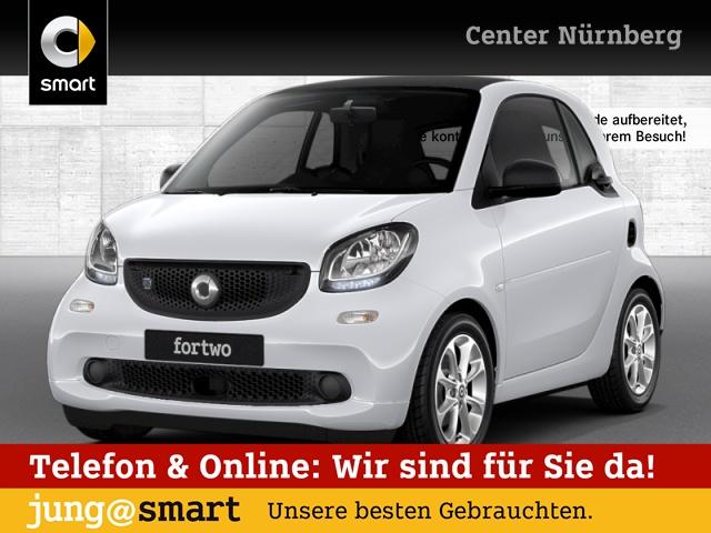 smart fortwo coupé 60kWed passion cool&Audio Tempom, Jahr 2017, Elektro