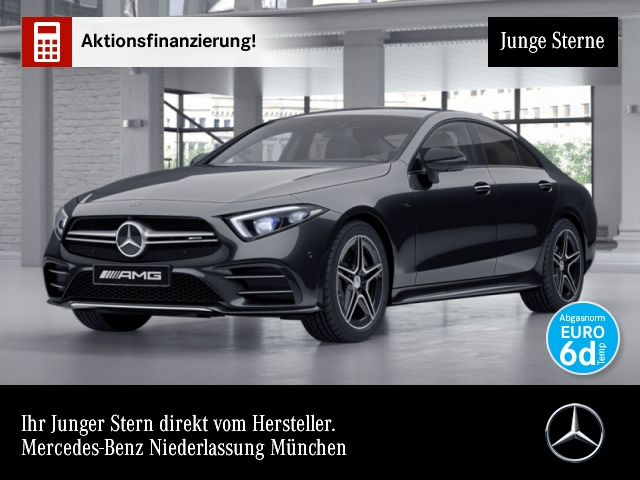 Mercedes-Benz CLS 53 4M+ AMG Multibeam Widescreen Drivers Pack, Jahr 2019, petrol