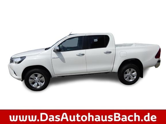 Toyota Hilux 2,4 D-4D Double-Cab 4X4 6-Gang Comfort, Jahr 2019, Diesel