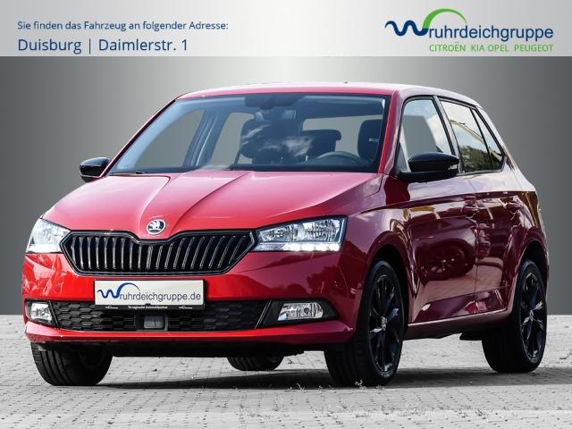Skoda Fabia Black Edition+KlimaAT+DAB+PDC+Kamera+ZV+ESP, Jahr 2020, Benzin