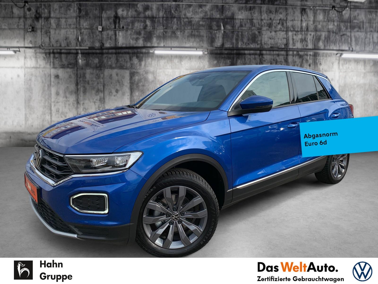 Volkswagen T-Roc Sport 1.5 TSI DSG ACC LED Standh Cam Sitzh, Jahr 2021, Benzin