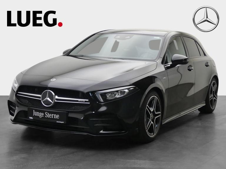 Mercedes-Benz A 35 AMG 4M MBUX+NavPrem+Pano+LED-HP+Totw+Kamera, Jahr 2019, Benzin