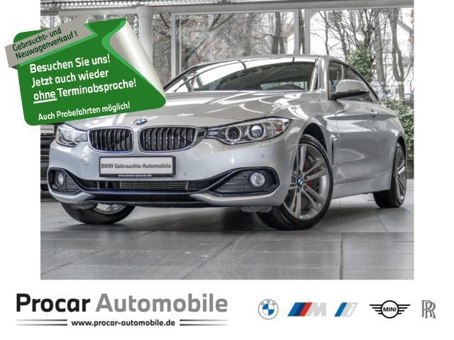 BMW 420i xDrive Coupe Sport Line,18'',Xenon,HiFi,TOP!, Jahr 2014, Benzin
