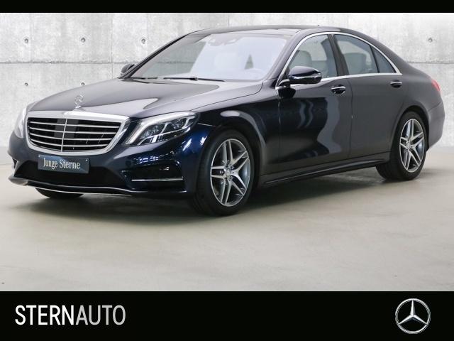 Mercedes-Benz S 400 Hybrid AMG Line Standh Pano Distr 19 Zoll 36, Jahr 2013, petrol