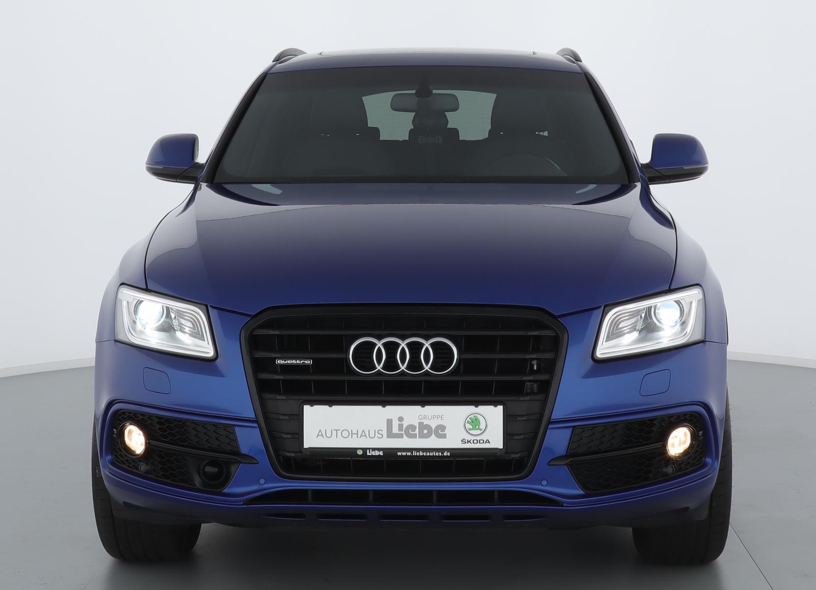 "Audi Q5 S-LINE QUATTRO 2.0TDI S-TRONIC 19""+PANO+NAVI, Jahr 2016, diesel"