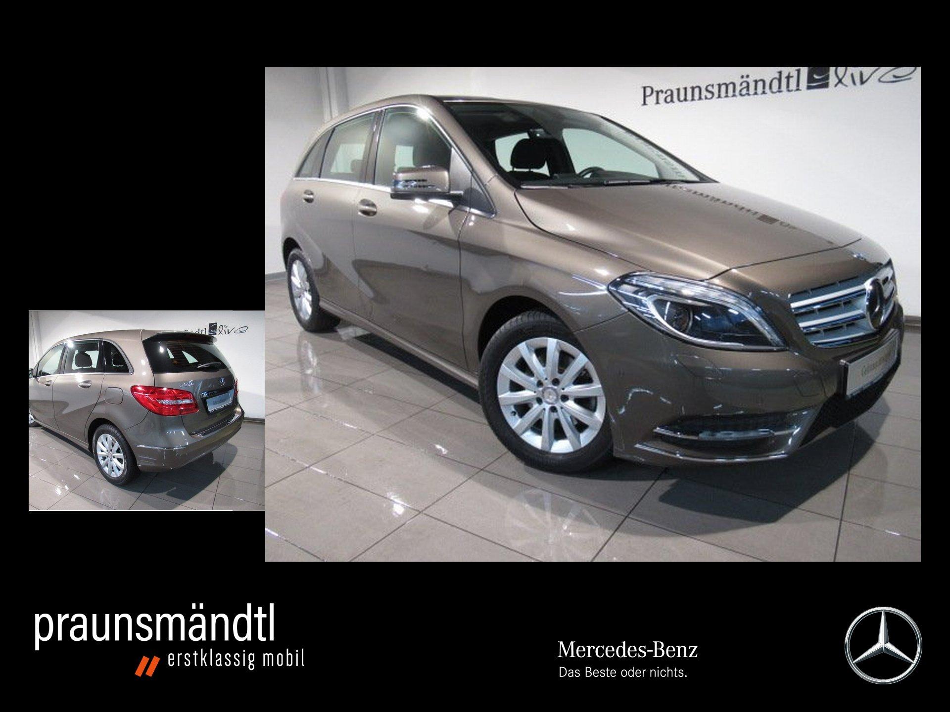 Mercedes-Benz B 200 7ATG Chrom Pake/Xenon/Navi/SHZ/PTS/LMF 16, Jahr 2014, Benzin